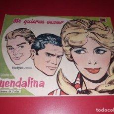 Tebeos: COLECCIÓN GUENDALINA Nº 15 TORAY 1959 CONTRAPORTADA SHIRLEY MCLAINE. Lote 216374993