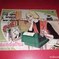 Tebeos: COLECCIÓN GUENDALINA Nº 16 TORAY 1959 CONTRAPORTADA GINA LOLLOBRIGIDA. Lote 216375143