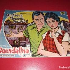 Tebeos: COLECCIÓN GUENDALINA Nº 19 TORAY 1959 CONTRAPORTADA FERNANDO LAMAS. Lote 216380258