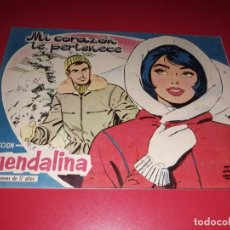 Tebeos: COLECCIÓN GUENDALINA Nº 28 TORAY 1959 CONTRAPORTADA ALESSANDRA PANARO. Lote 216382083
