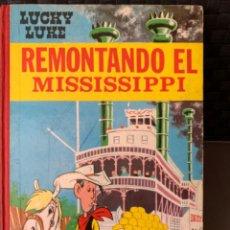Tebeos: LOS DALTON Y LUCKY LUKE REMONTANDO EL MISSISSIPPI EDITORIAL TORAY 1ª EDICION 1968. Lote 216407130