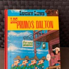 Tebeos: LOS DALTON Y LUCKY LUKE LOS PRIMOS DALTON EDITORIAL TORAY 2ª EDICION 1969. Lote 216407457