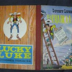Tebeos: LUCKY LUKE. FUERA DE LA LEY. EDICIONES TORAY 2ª EDICION ENERO DE 1969.. Lote 216415663
