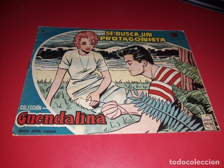 COLECCIÓN GUENDALINA Nº 66 TORAY 1959 CONTRAPORTADA HERMANAS SERRANO (Tebeos y Comics - Toray - Guendalina)
