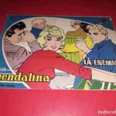 Tebeos: COLECCIÓN GUENDALINA Nº 68 TORAY 1959 CONTRAPORTADA LOS CINCO LATINOS. Lote 216454156
