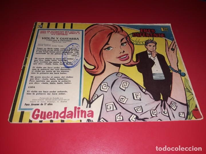 COLECCIÓN GUENDALINA Nº 92 TORAY 1959 CONTRAPORTADA MARIA MAHOR (Tebeos y Comics - Toray - Guendalina)