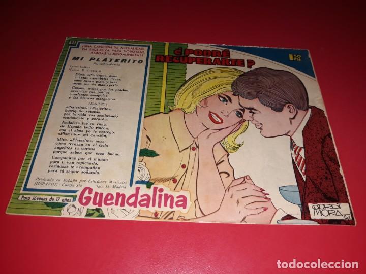 COLECCIÓN GUENDALINA Nº 95 TORAY 1959 CONTRAPORTADA JEAN PAUL BELMONDO (Tebeos y Comics - Toray - Guendalina)