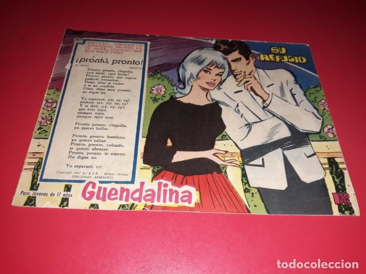 COLECCIÓN GUENDALINA Nº 107 TORAY 1959 CONTRAPORTADA BURT LANCASTER (Tebeos y Comics - Toray - Guendalina)