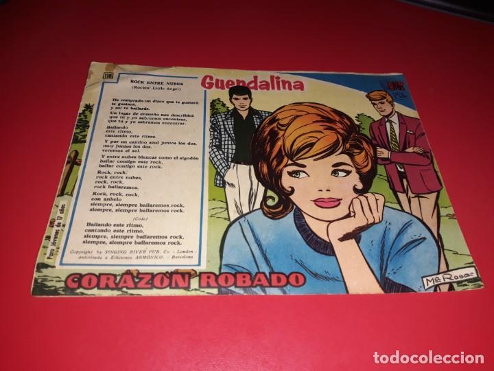 COLECCIÓN GUENDALINA Nº 118 TORAY 1959 CONTRAPORTADA DEBBIE REYNOLDS (Tebeos y Comics - Toray - Guendalina)
