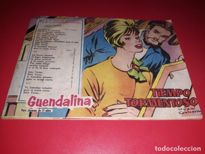 COLECCIÓN GUENDALINA Nº 121 TORAY 1959 CONTRAPORTADA JOHN LUND (Tebeos y Comics - Toray - Guendalina)