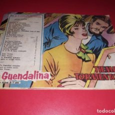 Tebeos: COLECCIÓN GUENDALINA Nº 121 TORAY 1959 CONTRAPORTADA JOHN LUND. Lote 216456605