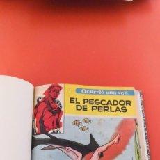 Tebeos: OCURRIÓ UNA VEZ, BOIXCAR. COMPLETA, LUJO ENCUADERNACIÓN BRUALLA. TORAY 1957. Lote 216577758