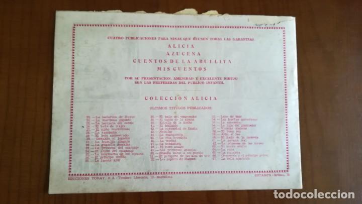Tebeos: La Bella Aparición. Colección Alicia nº 67 Ed. Toray - Foto 4 - 216821570
