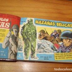 Tebeos: TOMO CON 13 COMICS: HAZAÑAS BELICAS EXTRA AZUL, ROJO, ALMANAQUE 1965, CINECOLOR ESPIA SERIE METEORO.. Lote 216995536