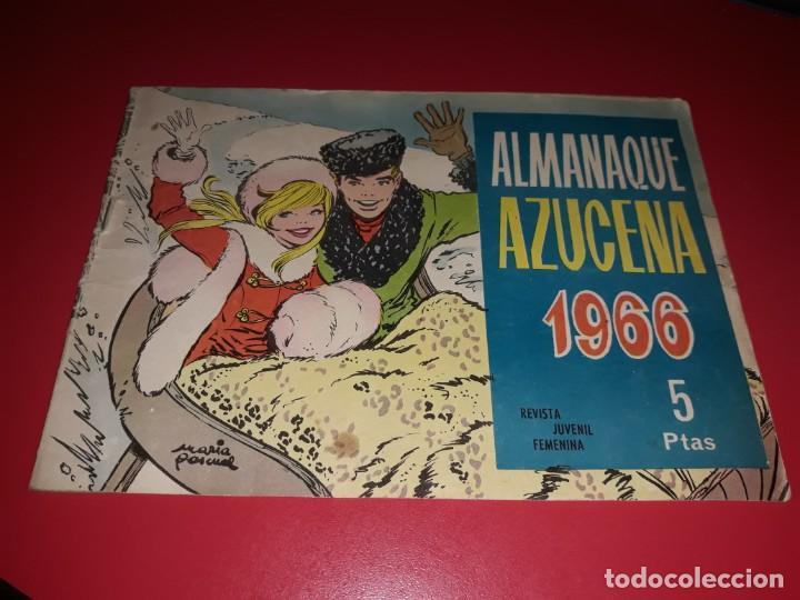 AZUCENA ALMANAQUE 1966 TORAY (Tebeos y Comics - Toray - Azucena)