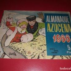 Tebeos: AZUCENA ALMANAQUE 1966 TORAY. Lote 217549983