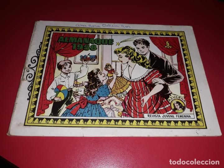 AZUCENA ALMANAQUE 1958 TORAY (Tebeos y Comics - Toray - Azucena)