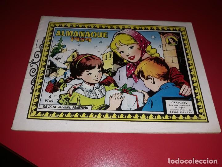 AZUCENA ALMANAQUE 1959 TORAY (Tebeos y Comics - Toray - Azucena)