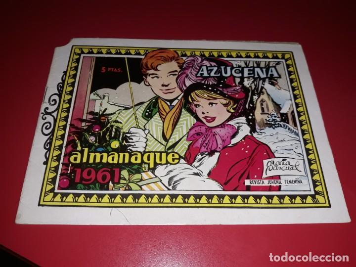 AZUCENA ALMANAQUE 1961 TORAY (Tebeos y Comics - Toray - Azucena)