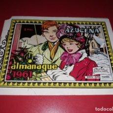 Tebeos: AZUCENA ALMANAQUE 1961 TORAY. Lote 217550431