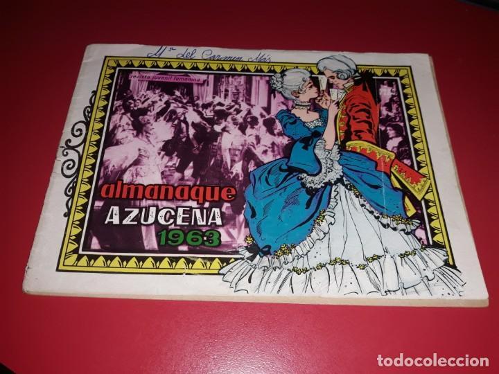 AZUCENA ALMANAQUE 1963 TORAY (Tebeos y Comics - Toray - Azucena)