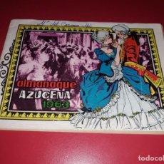 Tebeos: AZUCENA ALMANAQUE 1963 TORAY. Lote 217550561