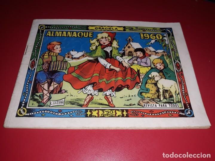 GRACIELA ALMANAQUE 1960 TORAY (Tebeos y Comics - Toray - Graciela)