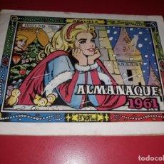 Tebeos: GRACIELA ALMANAQUE 1961 TORAY. Lote 217564896