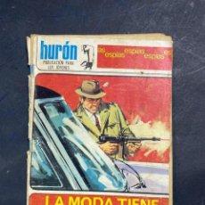 Tebeos: LA MODA TIENE DOS CARAS. S DULCET. EDICIONES TORAY. HURÓN. ESPIAS. PAGS: 48. Lote 217691100