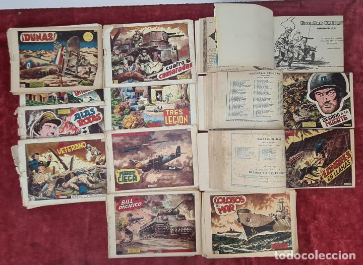 HAZAÑAS BÉLICAS. 4 TOMOS Y NUMEROS SUELTOS. SANCHEZ BOIX. EDIT. TORAY. AÑOS 50. (Tebeos y Comics - Toray - Hazañas Bélicas)