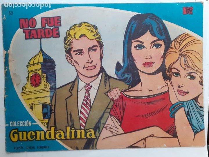 GUENDALINA- Nº 52 -NO FUE TARDE-1960-GRAN ANTONIO BORRELL-CORRECTO-MUY DIFÍCIL-LEAN-3733 (Tebeos y Comics - Toray - Guendalina)