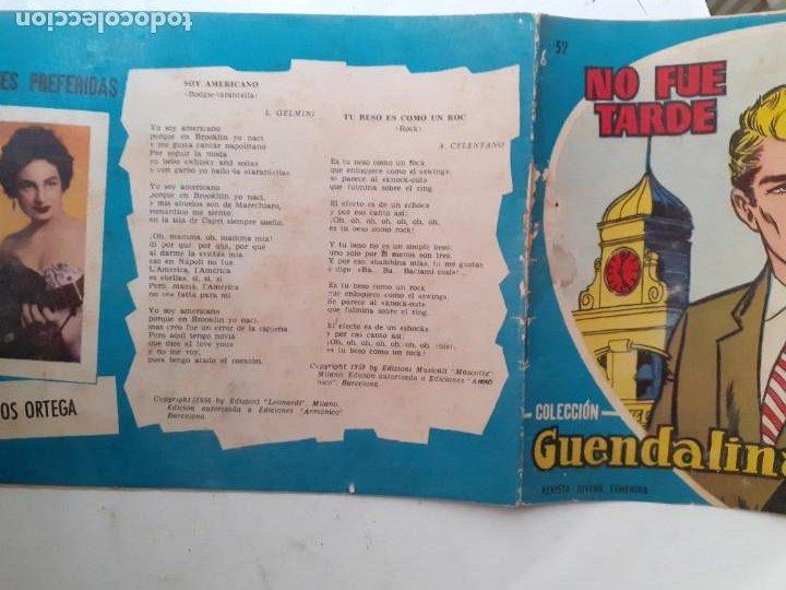 Tebeos: GUENDALINA- Nº 52 -NO FUE TARDE-1960-GRAN ANTONIO BORRELL-CORRECTO-MUY DIFÍCIL-LEAN-3733 - Foto 2 - 218077050