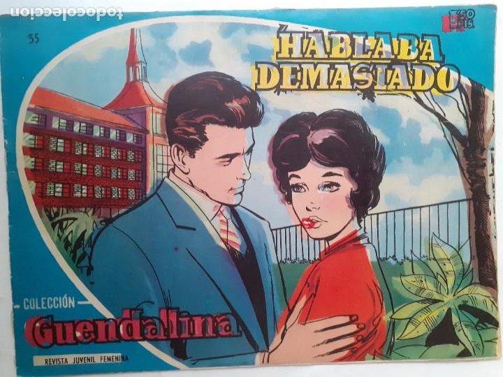 GUENDALINA- Nº 55 -HABLABA DEMASIADO-1960-GRAN JUAN NEBOT-REGULAR-MUY DIFÍCIL-LEAN-3734 (Tebeos y Comics - Toray - Guendalina)