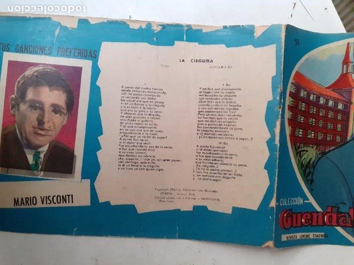 Tebeos: GUENDALINA- Nº 55 -HABLABA DEMASIADO-1960-GRAN JUAN NEBOT-REGULAR-MUY DIFÍCIL-LEAN-3734 - Foto 2 - 218077801