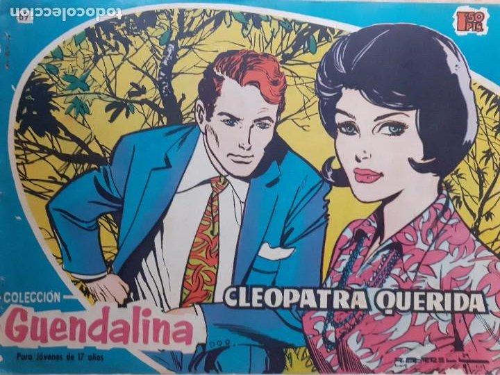GUENDALINA- Nº 69 -CLEOPATRA QUERIDA-1960-GRAN ANTONIO BORRELL-REGULAR-MUY DIFÍCIL-LEAN-3735 (Tebeos y Comics - Toray - Guendalina)
