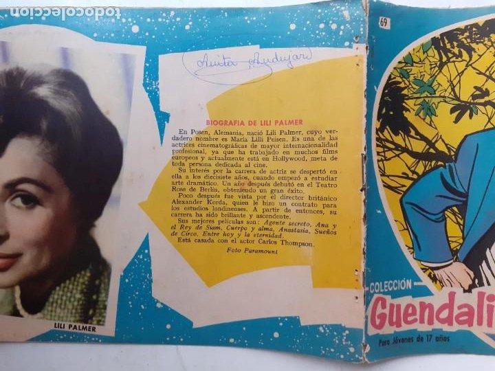 Tebeos: GUENDALINA- Nº 69 -CLEOPATRA QUERIDA-1960-GRAN ANTONIO BORRELL-REGULAR-MUY DIFÍCIL-LEAN-3735 - Foto 2 - 218079053
