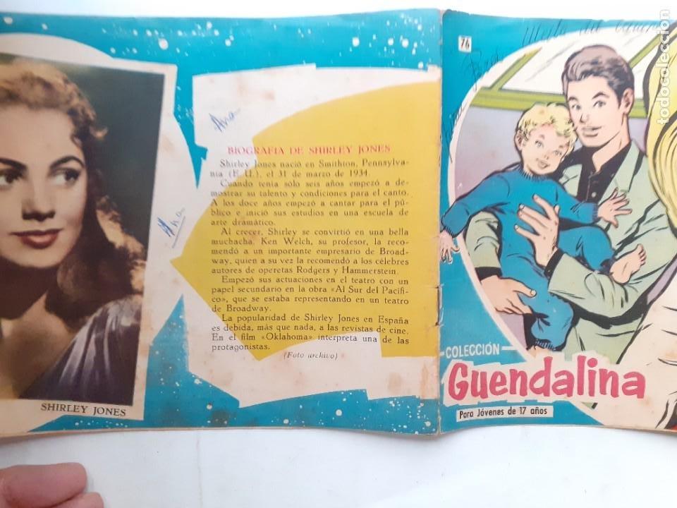 Tebeos: GUENDALINA- Nº 76 -MATRIMONIO DE INTERÉS-1960-GRAN MAITE-SHIRLEY JONES--MUY DIFÍCIL-LEAN-3737 - Foto 3 - 218082681