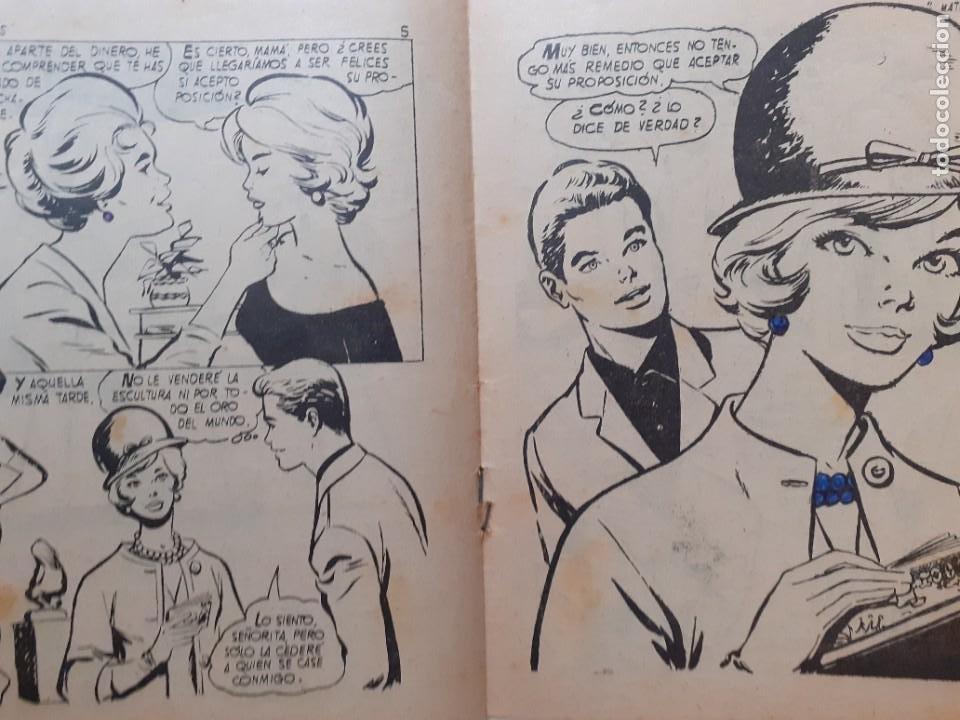 Tebeos: GUENDALINA- Nº 76 -MATRIMONIO DE INTERÉS-1960-GRAN MAITE-SHIRLEY JONES--MUY DIFÍCIL-LEAN-3737 - Foto 4 - 218082681