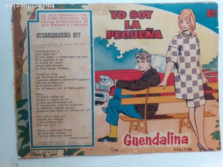 Tebeos: GUENDALINA- Nº 105 -YO SOY LA PEQUEÑA-1961-GRAN HELENA-ANTHONY QUINN--MUY DIFÍCIL-LEAN-3738 - Foto 2 - 218084850