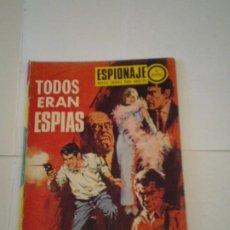 Tebeos: ESPIONAJE - TODOS ERAN ESPIAS - NUMERO 72 - TORAY - BUEN ESTADO - GORBAUD - CJ 117. Lote 218174783