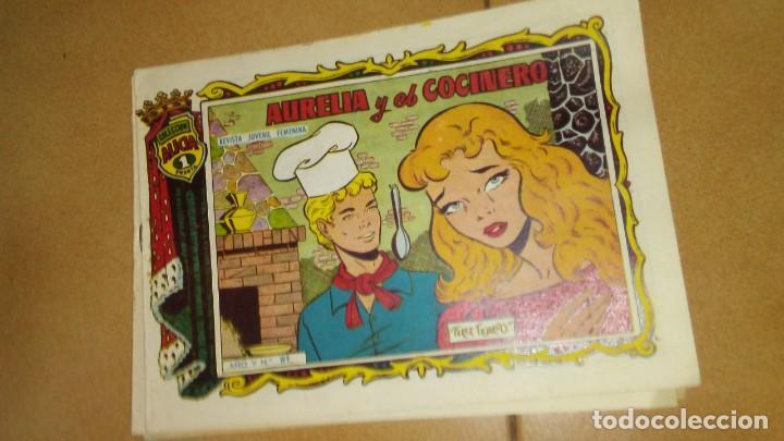 COLECCIÓN ALICIA.AURELIA Y EL COCINERO.NÚMERO 199 (Tebeos y Comics - Toray - Alicia)