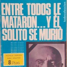 Tebeos: BRIGADA SECRETA Nº 151. ENTRE TODOS LE MATARON ... Y EL SOLO SE MURIÓ. EDITORIAL TORAY AÑOS 60. Lote 218926567