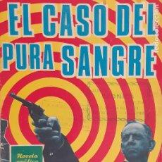 Tebeos: BRIGADA SECRETA Nº 145. EL CASO DEL PURA SANGRE. EDITORIAL TORAY AÑOS 60. Lote 218926685