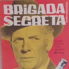 Tebeos: BRIGADA SECRETA Nº 47. EL CASO 2.001. EDITORIAL TORAY AÑOS 60. Lote 218926788