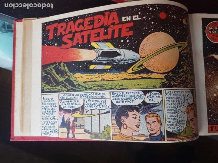 Tebeos: COLECCIÓN 24 TEBEOS/CÓMIC TOMO ORIGINAL MUNDO FUTURO 1 ALMANAQUE 1956 HAZAÑAS BÉLICAS 1955 TORAY( 3) - Foto 5 - 218950456