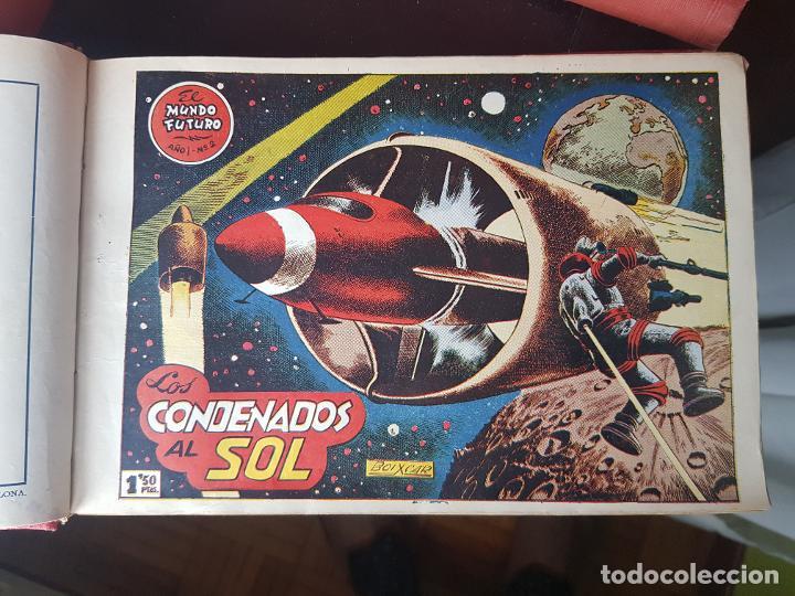 Tebeos: COLECCIÓN 24 TEBEOS/CÓMIC TOMO ORIGINAL MUNDO FUTURO 1 ALMANAQUE 1956 HAZAÑAS BÉLICAS 1955 TORAY( 3) - Foto 8 - 218950456