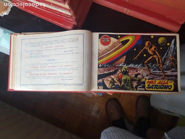 Tebeos: COLECCIÓN 24 TEBEOS/CÓMIC TOMO ORIGINAL MUNDO FUTURO 1 ALMANAQUE 1956 HAZAÑAS BÉLICAS 1955 TORAY( 3) - Foto 9 - 218950456