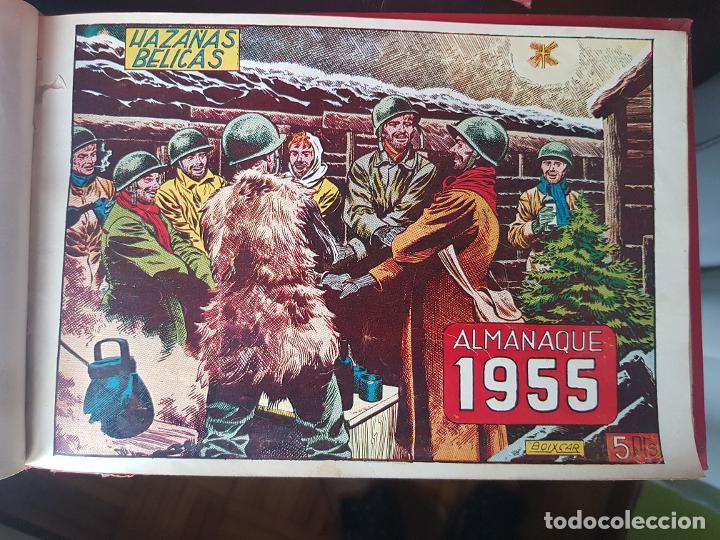 Tebeos: COLECCIÓN 24 TEBEOS/CÓMIC TOMO ORIGINAL MUNDO FUTURO 1 ALMANAQUE 1956 HAZAÑAS BÉLICAS 1955 TORAY( 3) - Foto 15 - 218950456