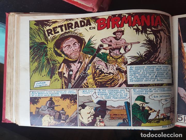 Tebeos: COLECCIÓN 24 TEBEOS/CÓMIC TOMO ORIGINAL MUNDO FUTURO 1 ALMANAQUE 1956 HAZAÑAS BÉLICAS 1955 TORAY( 3) - Foto 17 - 218950456