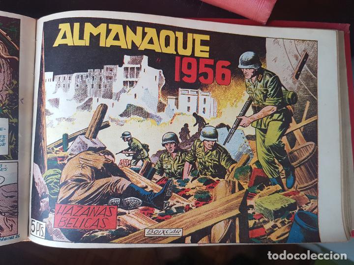 Tebeos: COLECCIÓN 24 TEBEOS/CÓMIC TOMO ORIGINAL MUNDO FUTURO 1 ALMANAQUE 1956 HAZAÑAS BÉLICAS 1955 TORAY( 3) - Foto 18 - 218950456